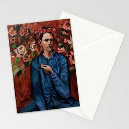 Garçon à la pipe by Pablo Picasso Stationery Cards