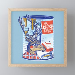 Maple sirup can Framed Mini Art Print