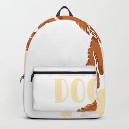 Doodle Mom Cute Goldendoodle Dog Lover Backpack