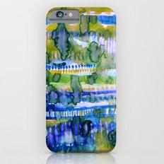 Splatter Ochre iPhone 6 Slim Case