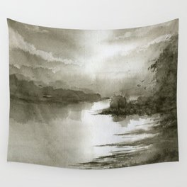 A Splash of Sepia Wall Tapestry