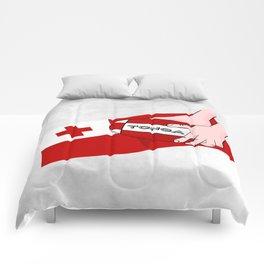 Tonga Rugby Flag Comforters