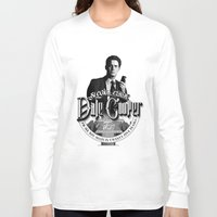 dale cooper Long Sleeve T-shirts featuring Dale Cooper - Twin Peaks by KevinART