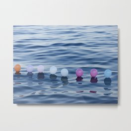 baloon sea Metal Print