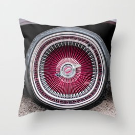 Rollin Low Throw Pillow