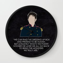 Being Human - Hal Yorke (Soldier edition) Wall Clock