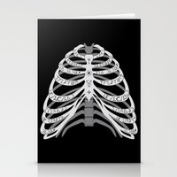 winchester Stationery Cards featuring Winchester Bones by Lisa Buchfink