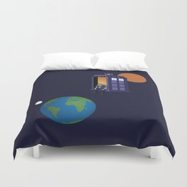 A WhoView Duvet Cover