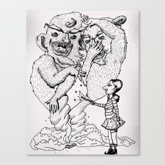 Box-O-Trolls Canvas Print