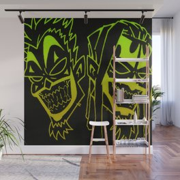 Icp heads Wall Mural
