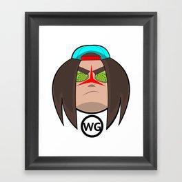 OWG (Original Water God) Framed Art Print