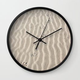 Places to Go Wall Clock
