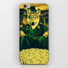WOLF II iPhone Skin