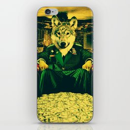 WOLF II iPhone Skin