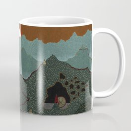 mountain system Coffee Mug