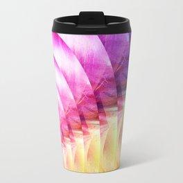 Circles Of Colour Travel Mug