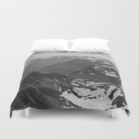 jon snow Duvet Covers featuring Archangel Valley by Kevin Russ