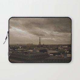 Rooftop view of Paris Laptop Sleeve
