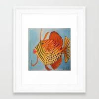 jay z Framed Art Prints featuring Jay Z by Caribbean Critters Co.