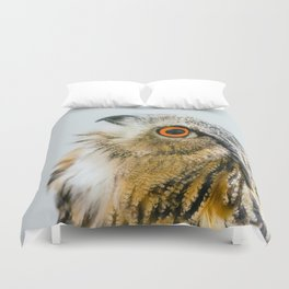 Eurasian Eagle Owl Duvet Cover