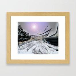 Castle Grosslaupheim Framed Art Print