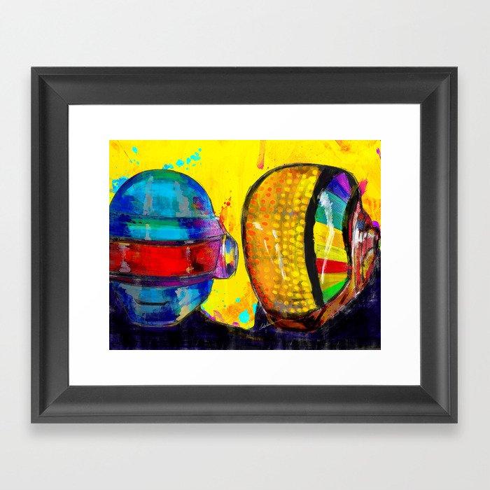 Daft Punk Framed Art Print
