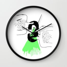 I know who you are Wall Clock