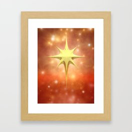 Christmas decoration Framed Art Print