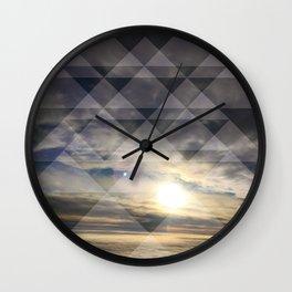 Sky Quilt Wall Clock