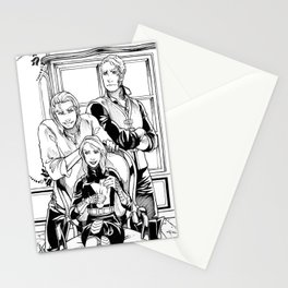 Fireheart and Her Boys Stationery Cards