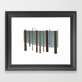 Dear Winter Framed Art Print