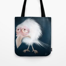 White Raven Tote Bag