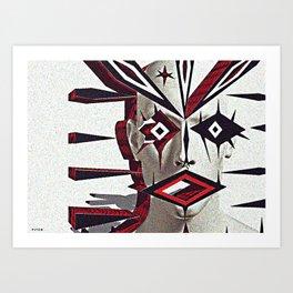amazed Art Print