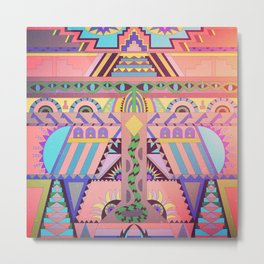 Serpent Temple  Metal Print