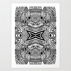 Queen of Hypnôse Art Print