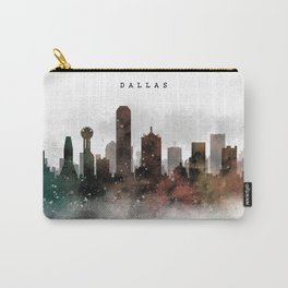 Dallas City Skyline Carry-All Pouch
