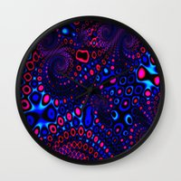 psycho Wall Clocks featuring Psycho by Sr. xx