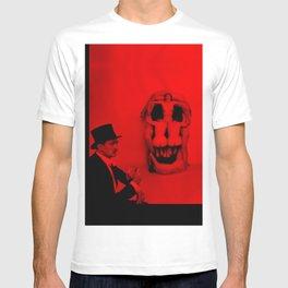 Salvador Dali with Women Skull (Photographic Art) T-shirt