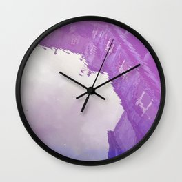 Curses: Purple Haze Wall Clock