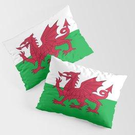 Flag of Wales - Welsh Flag Pillow Sham