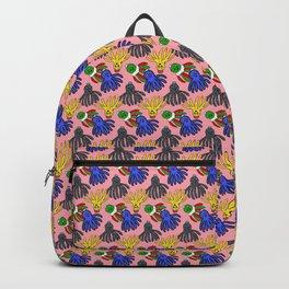 Kyle's babies print (Peach) Backpack