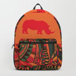 African Tribal Pattern No. 16 Backpack