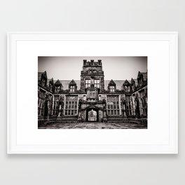 East Pyne Hall Framed Art Print