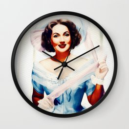 Ann Sothern, Vintage Actress Wall Clock