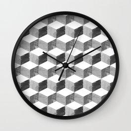 mod cubic Wall Clock