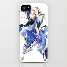 Fashion Painting #4 iPhone Case