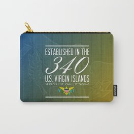 Established in the 340/USVI Carry-All Pouch