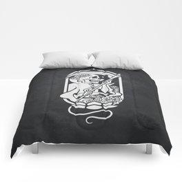 Death Tarot Comforters