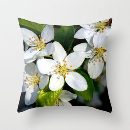 Floral Beauty #9 Throw Pillow