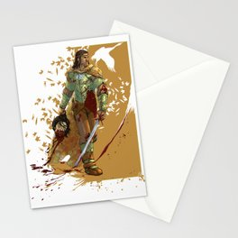 I came here to KILL YOU Stationery Cards
